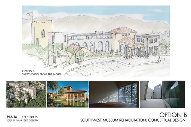 Proposed new Southwest Museum