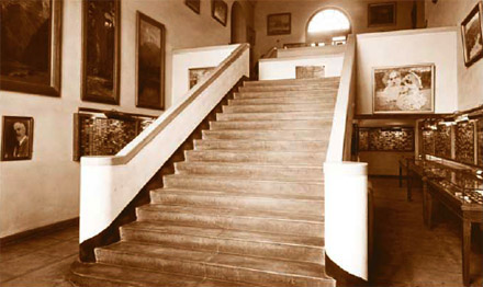 Staircase in the Southwest Museum