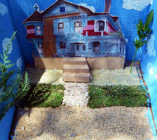 Diorama by students from Los Feliz Charter School for the Arts