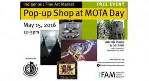 Indigenous Fine Art Market Show – Lummis Home During Museums of the Arroyo (MOTA) Day